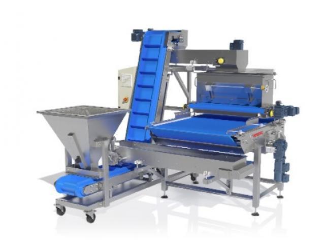 Maszyny piekarnicze - posypywacz zintegrowany