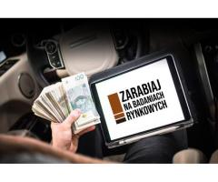 Badania Rynkowe, Praca Zdalna, 2500 zł na start