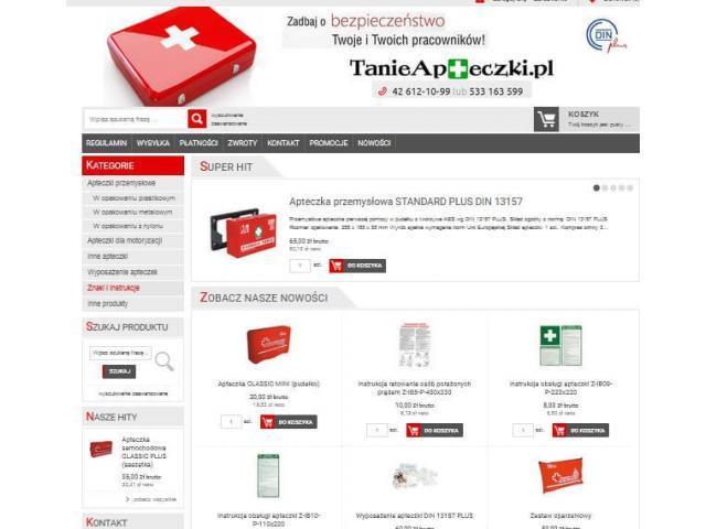 TanieApteczki.pl - apteczki pierwszej pomocy