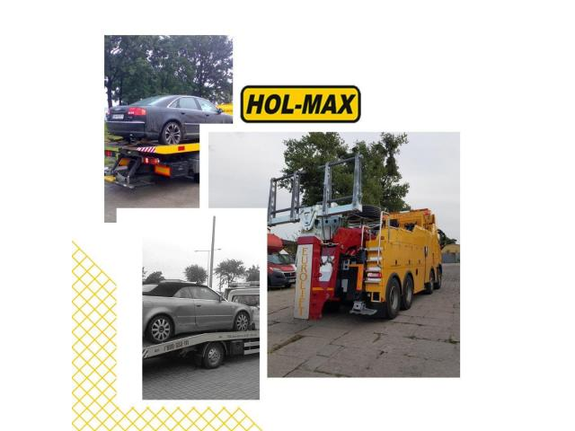 HOL-MAX - holowanie TIR - Wrocław - Polska - UE
