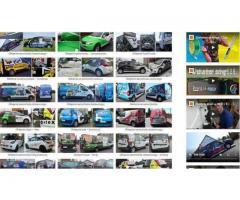 Wydruki wielkoformatowe, usługi poligraficzne, kasetony świetlne, litery 3d, oklejanie samochodów