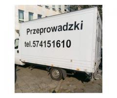 Usługi transportowe Wrocław.Przeprowadzki biur, mieszkań.Utylizacja.