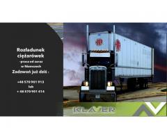 Praca w Niemczech !!! Rozładunek  i załadunek ciężarówek !!!