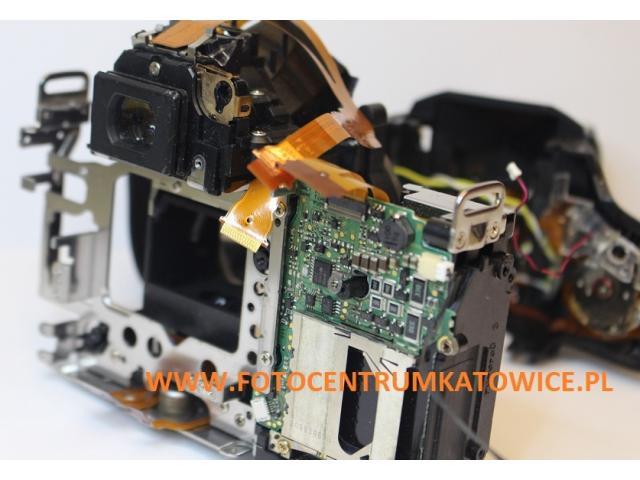 Serwis aparatów Nikon D80, D90 ERR naprawa Katowice