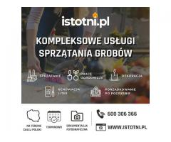 Sprzątanie grobów, mycie grobów Środa Śląska