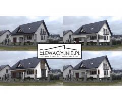 Wizualizacje Elewacji Domów Elewacje Inspiracje Pomysły Projekt Fasady
