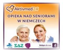 Opiekunka seniora - wysokie zarobki+premie