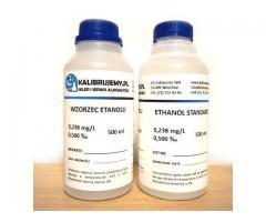 WZORZEC ETANOLOWY 0,25 mg/L  DO KALIBRACJI ALKOMATÓW