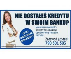 Kredyty dla Zadłużonych , Bez opłat wstępnych darmowy dojazd
