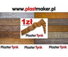 Deska elewacyjna elastyczna w rolce PlasterTynk DEKO STYL WOOD