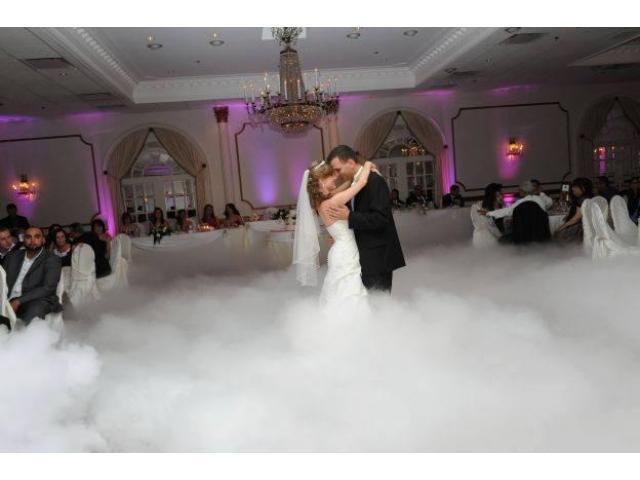 Atrakcje na wesele, bańki, dym ciężki, konfetti, CO2, oświetlenie, nagłośnienie, osiemnastka, dj
