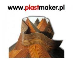 Elastyczna Deska Elewacyjna ( imitacja drewna ) PlasterTynk