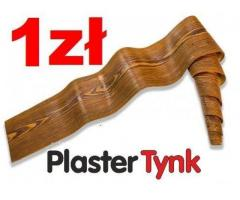 Deska elewacyjna elastyczna PlasterTynk, żywica akrylowa / Belki rustykalne na wymiar