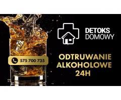 Odtrucie alkoholowe, detoks i nawadnianie 24H