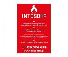 Usługi BHP, Szkolenia BHP przegląd gaśnic i hydrantów