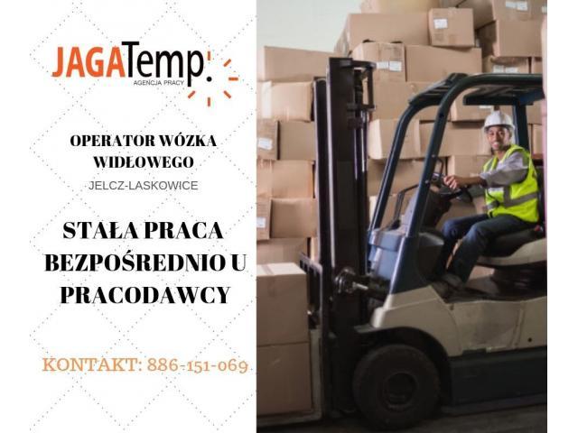 Operator wózka widłowego - BEZPOŚREDNIE ZATRUDNIENIE!