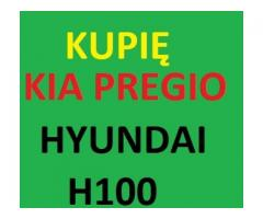 Skup HYUNDAI H100,ATOS lub KIA PREGIO cały kraj 511-268-711