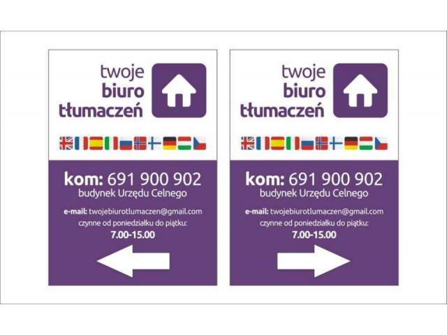 Tłumacz przysięgły - wszystkie języki:)