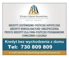 Kredyt z wnioskiem przez telefon,bez formalności i wychodzenia z domu RRSO 8,3%