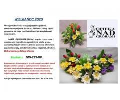 SPRZĄTANIE GROBÓW - WIELKANOC 2020