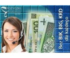 Pożyczki pozabankowe bez sprawdzania baz nawet z komornikiem
