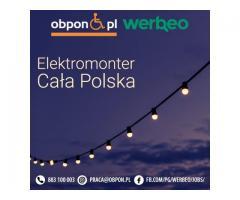 Elektromonter – Praca w całej Polsce z orzeczeniem