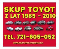 Kupię - Skup Toyot Carina Avensis Corolla i inne Wrocław