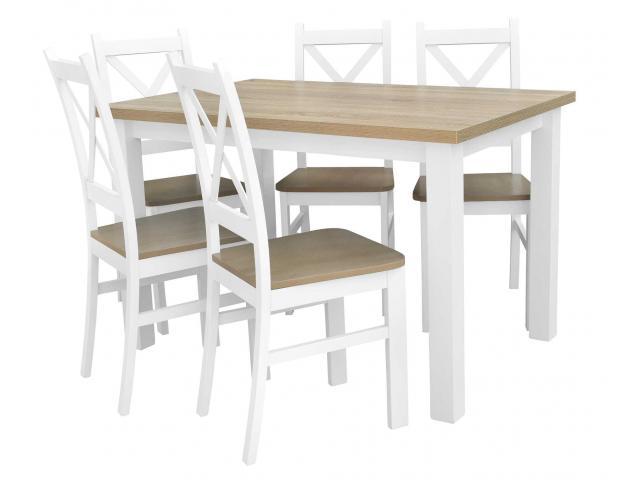 Stół rozkładany z krzesłami tanio - zajrzyj na BirdMeble.pl