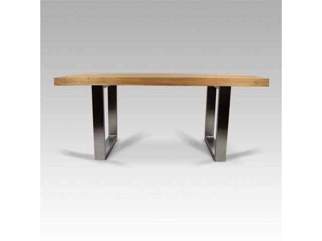 Henry Wood QUINN nowoczesny stół lite drewno